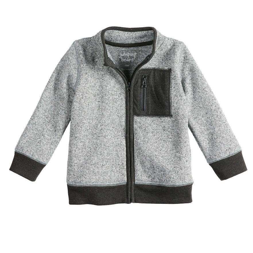 Baby Boys Jumping Beans Zip Jacket