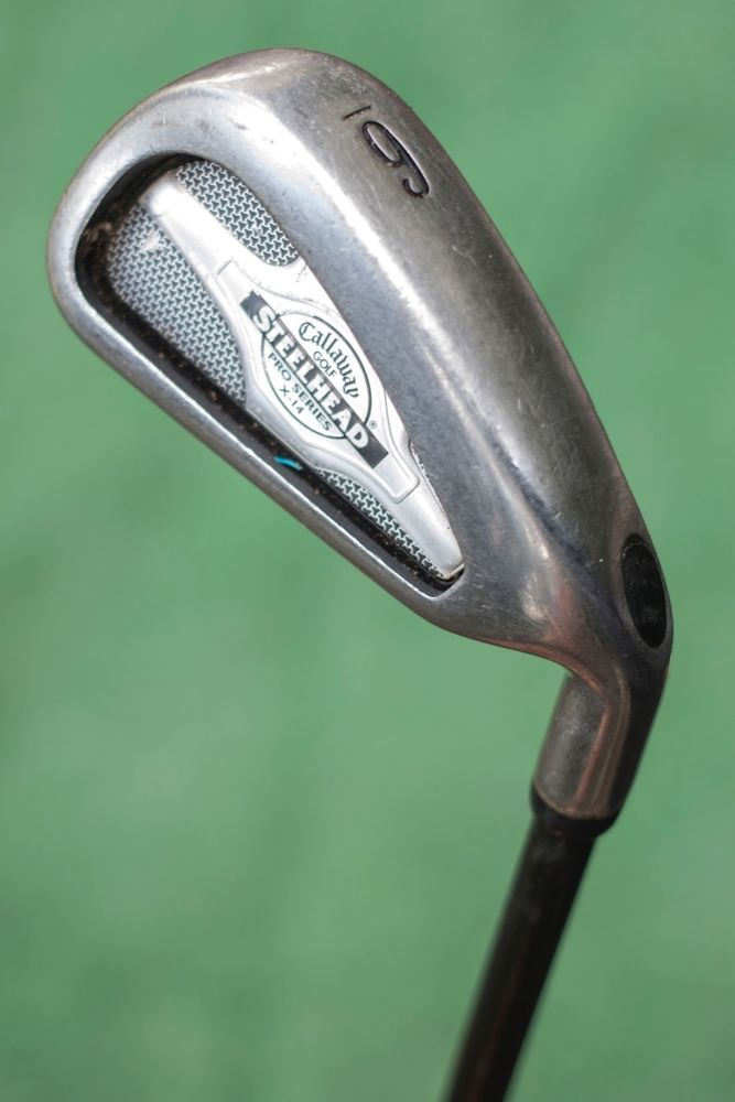 Callaway Golf Steelhead Pro Series X 14 6 Iron Used Single Iron