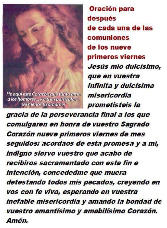 Sagrado Corazón de Jesús en Vos confio!