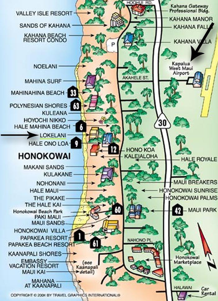 Maui Travel Tips Travel Hawaii Maui Pinterest Tourist map