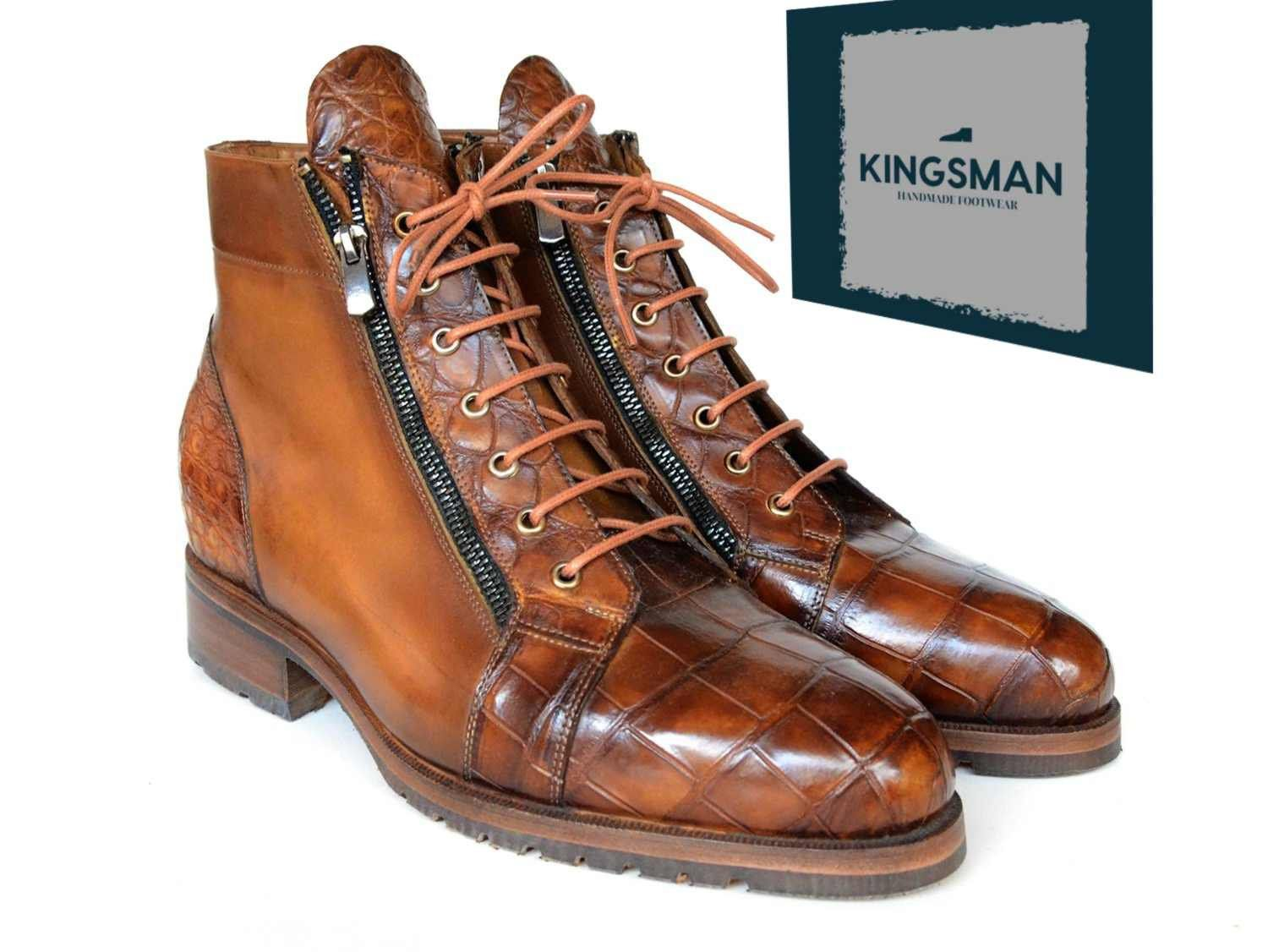 Men's Handmade Pure Leather brown