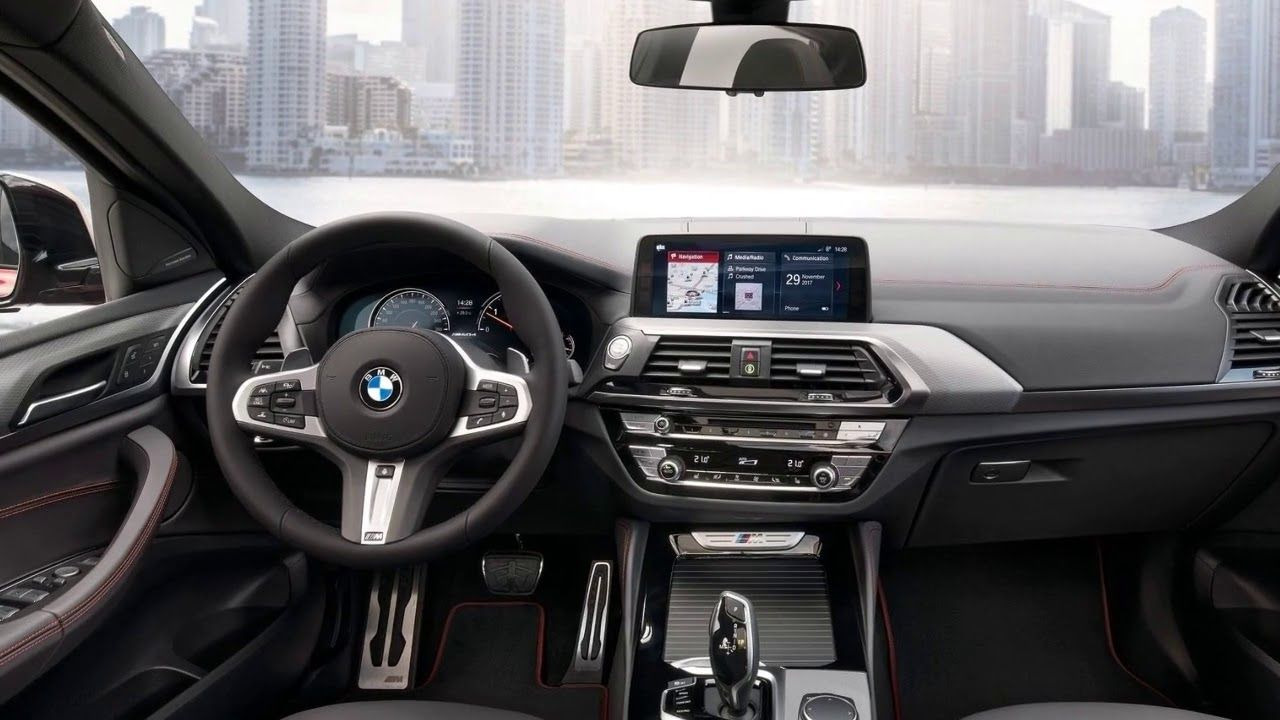 All New 2019 Bmw X4 M40d Interior 2019 Bmw X4 M40d M Sport Tube
