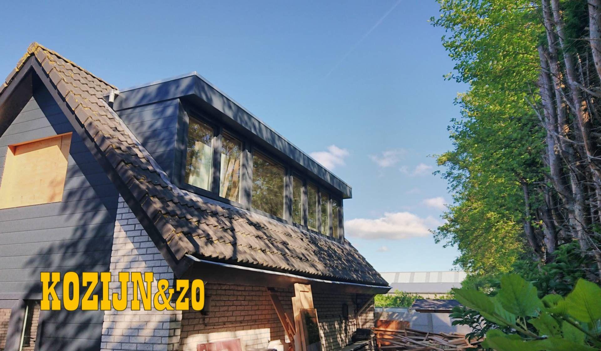 Onderhoudsarme kunststof dakkapel │Kozijn & Zo Hoogvliet