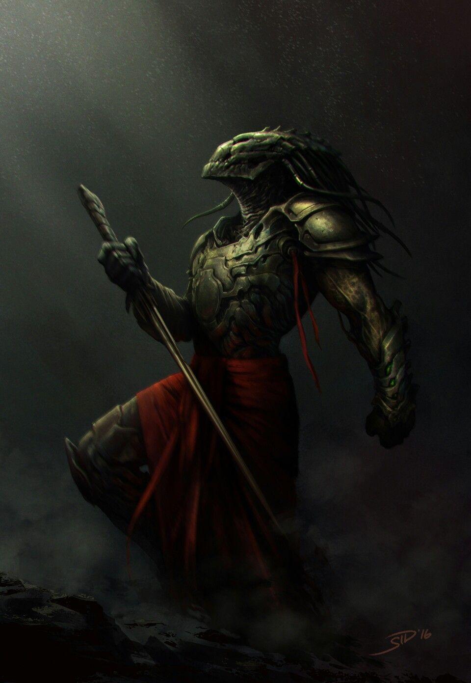 7212987b Ancient predator   predators or yautjas and aliens or xenomorphs in ...