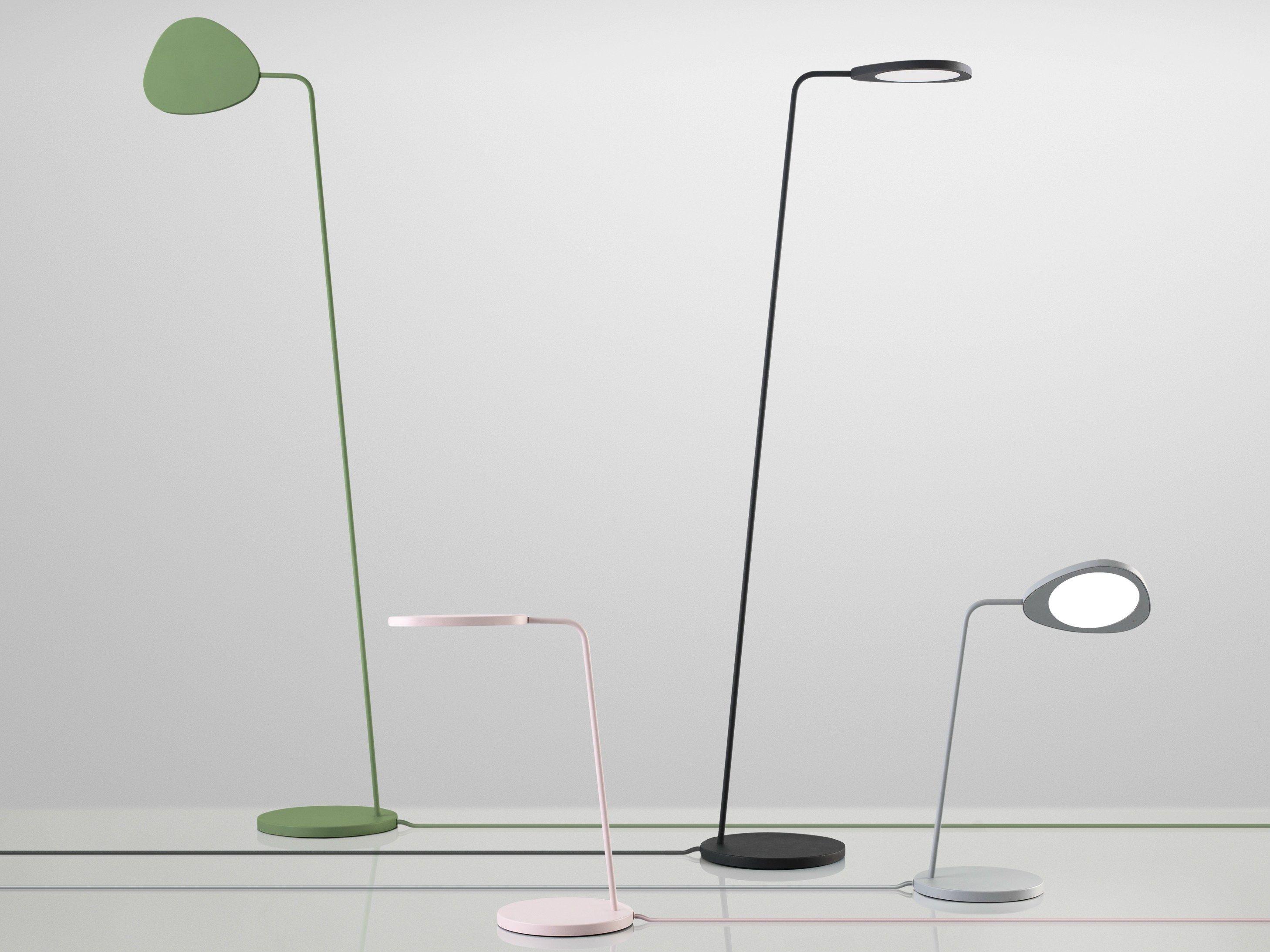 Led Table Lamp Leaf By Muuto Design Brda Broberg Lamp Floor Lamp Led Table Lamp