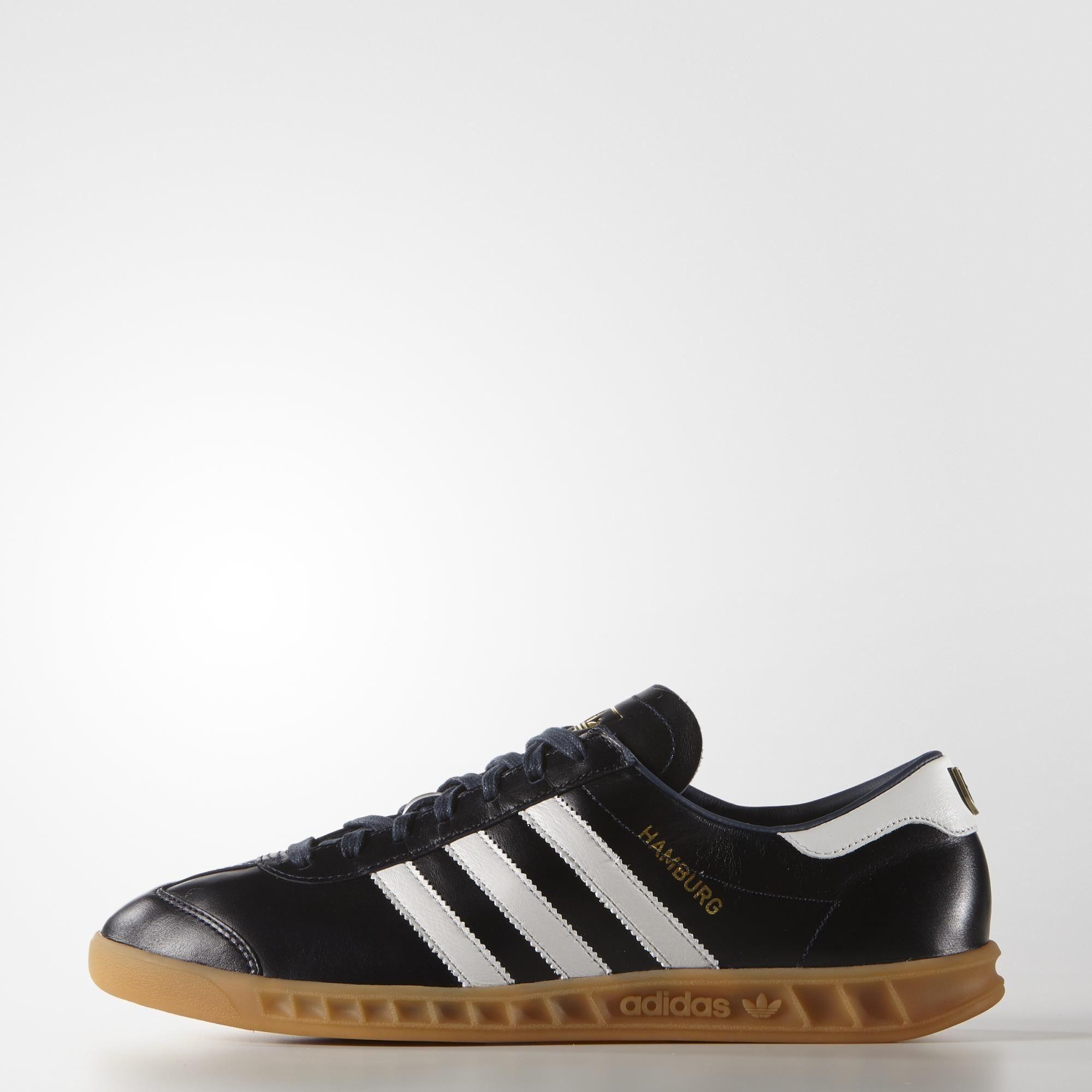 límite esencia Favor  adidas Hamburg Made in Germany Shoes - Blue | adidas UK