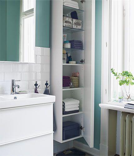 Badezimmer Ideen & Inspirationen   Badezimmer hochschrank ...