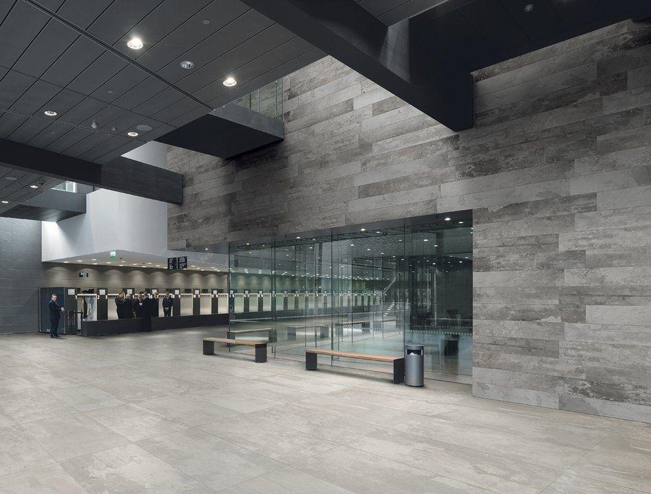 Porcelain Tiles Design Industry Raw Collection From Ceramiche Refin Large Format Tile Floor Design Tile Design