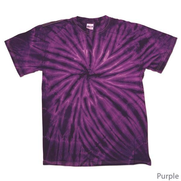 Photo of Dyenomite 200CY Cyclone Tie-Dye T-Shirt | Screen Printed Logo Dyenomite Tie-Dye T-Shirts
