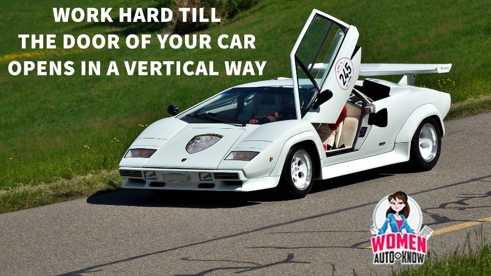 Make Your Car Door Open Vertically Motivationalmonday Womenautoknow Car Door Opener Car Car Door