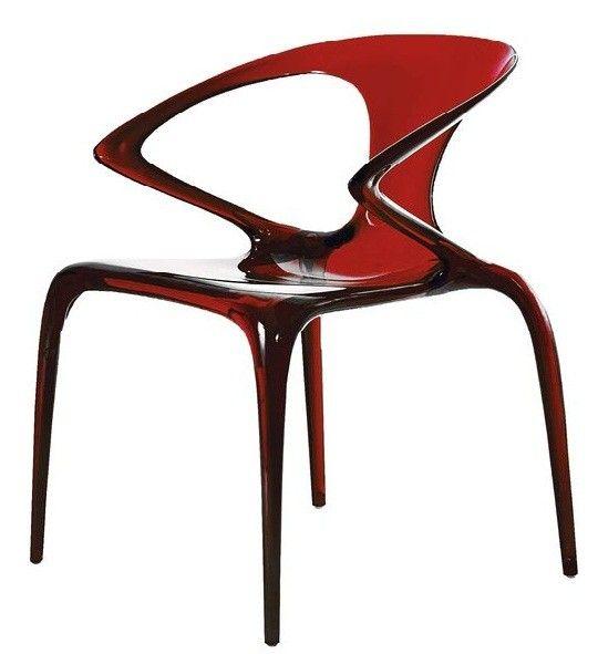 Chaise Ava rouge Roche Bobois   Mobilier séjour   Pinterest   Rouge