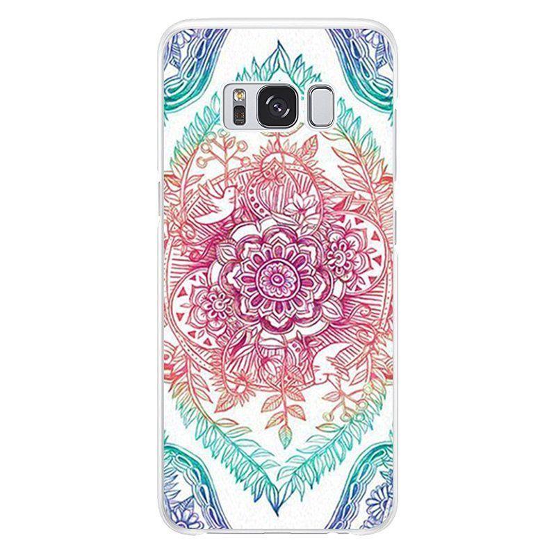quality design cbf50 3a7bc Samsung Galaxy Floral Print Case S5 S6 S7 Edge S8 S9 Plus A3 A5 A8 ...