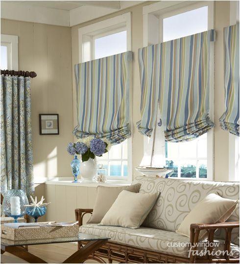 Roman Shades With Curtains Fabric Flat Roman Shades
