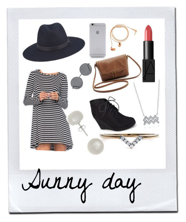 """""""Sunny Aquarius outfit"""" by mimmiviolet ❤ liked on Polyvore featuring beauty, Socialite, rag & bone, Native Union, NARS Cosmetics, Journee Collection, Happy Plugs, Forever 21, BERRICLE and Diamonds Unleashed"""