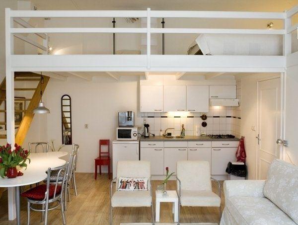 gagner de la place alors pour 1 pi ce cr er une mezzanine si votre plafond est haut fashion. Black Bedroom Furniture Sets. Home Design Ideas