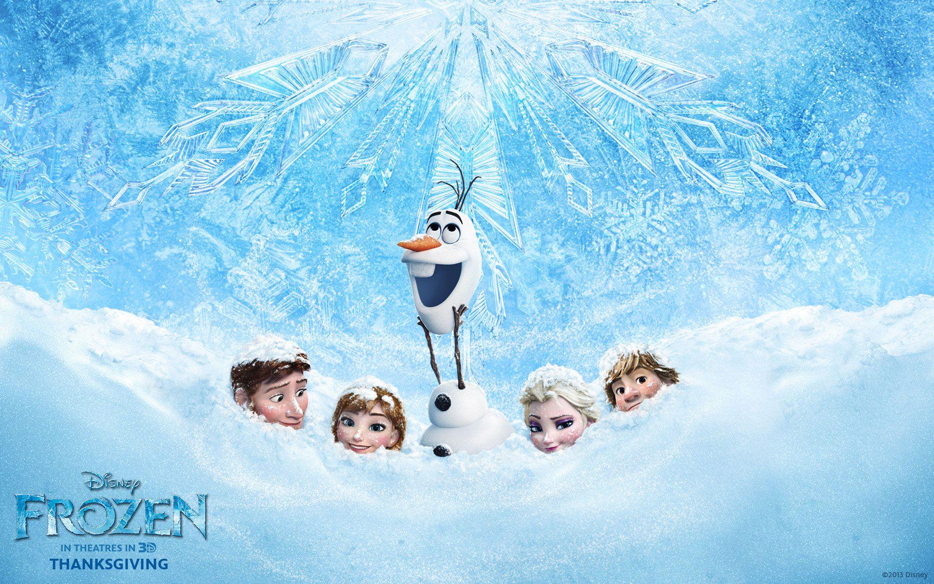 Frozen HD desktop wallpaper Widescreen High Definition