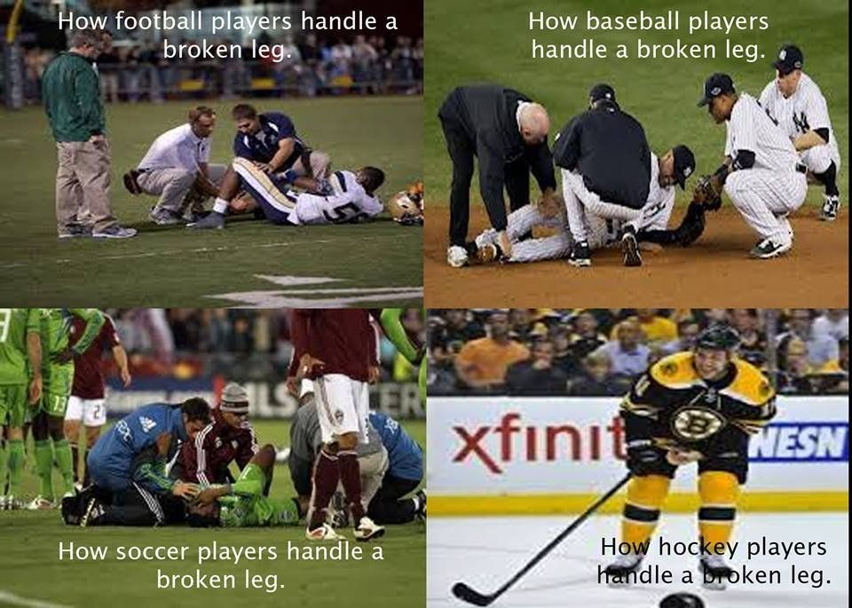 hockey players vs soccer players google search my