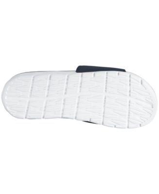 Nike Men's Chicago Bears Benassi Solarsoft Slides - White 10
