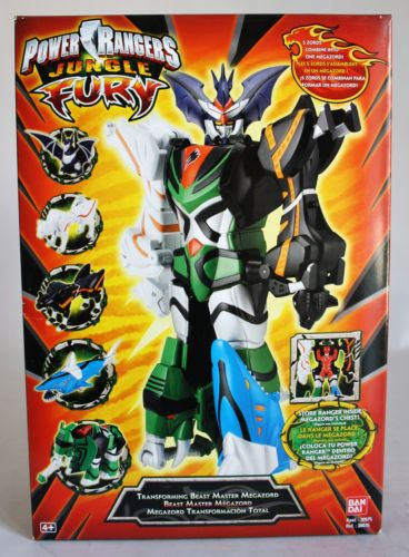 Power rangers jungle fury transforming beast master megazord bandai power rangers jungle fury transforming beast master megazord bandai new misb ebay voltagebd Image collections