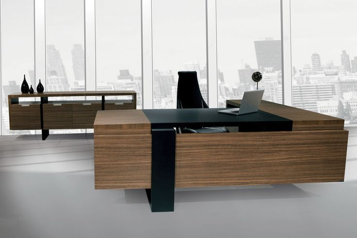 Contemporary Ceo Office Furniture Executive Desk