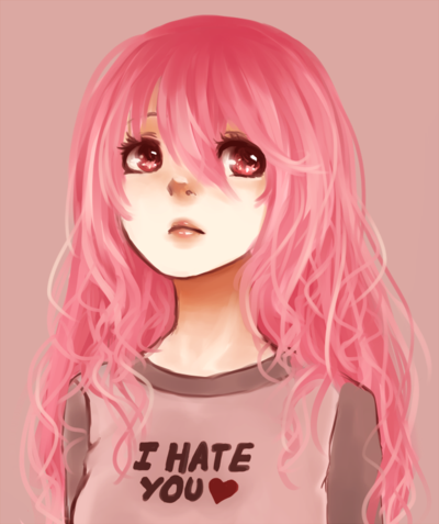 adorable anime girls with pink hair - Google Search ...