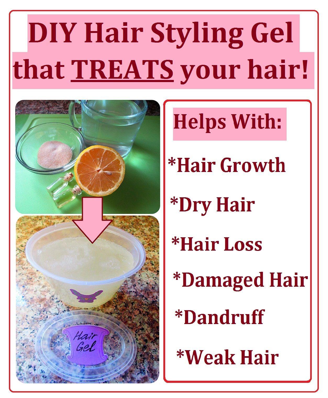 My Diys Styling Gel Natural Hair Styles Hair Gel