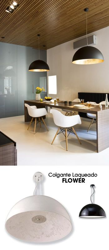 Lámparas colgantes para techos altos | Interior design | Apartment ...