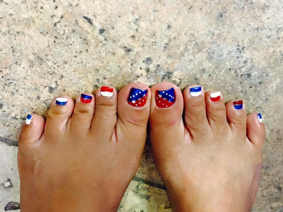 40 Irresistible 4th Of July Patriotic Toe Nail Art Ideas Toe Nail Art