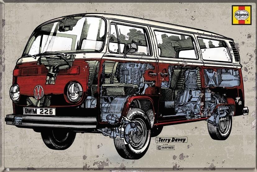 Vw Volkswagen Camper Plakat 91 5x61 Cm 4860498332 Oficjalne Archiwum Allegro Vw Camper Volkswagen Vw Volkswagen