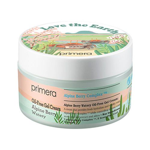 PRIMERA] Alpine Berry Watery Oil-Free Gel Cream 100ml (Jumbo