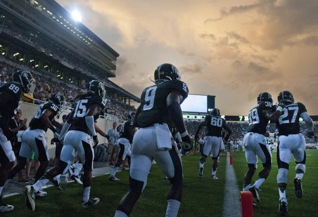 Michigan State S Spartan 300 Captures Attention Of Espn Recruiting Nation Show Ohio State Football Game Michigan State Michigan State University