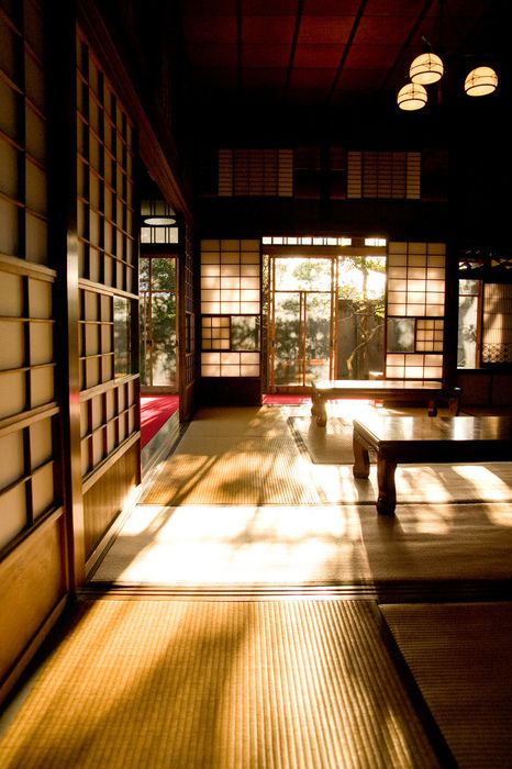 This looks a lot like the ryokan (Traditional Japanese Inn) we
