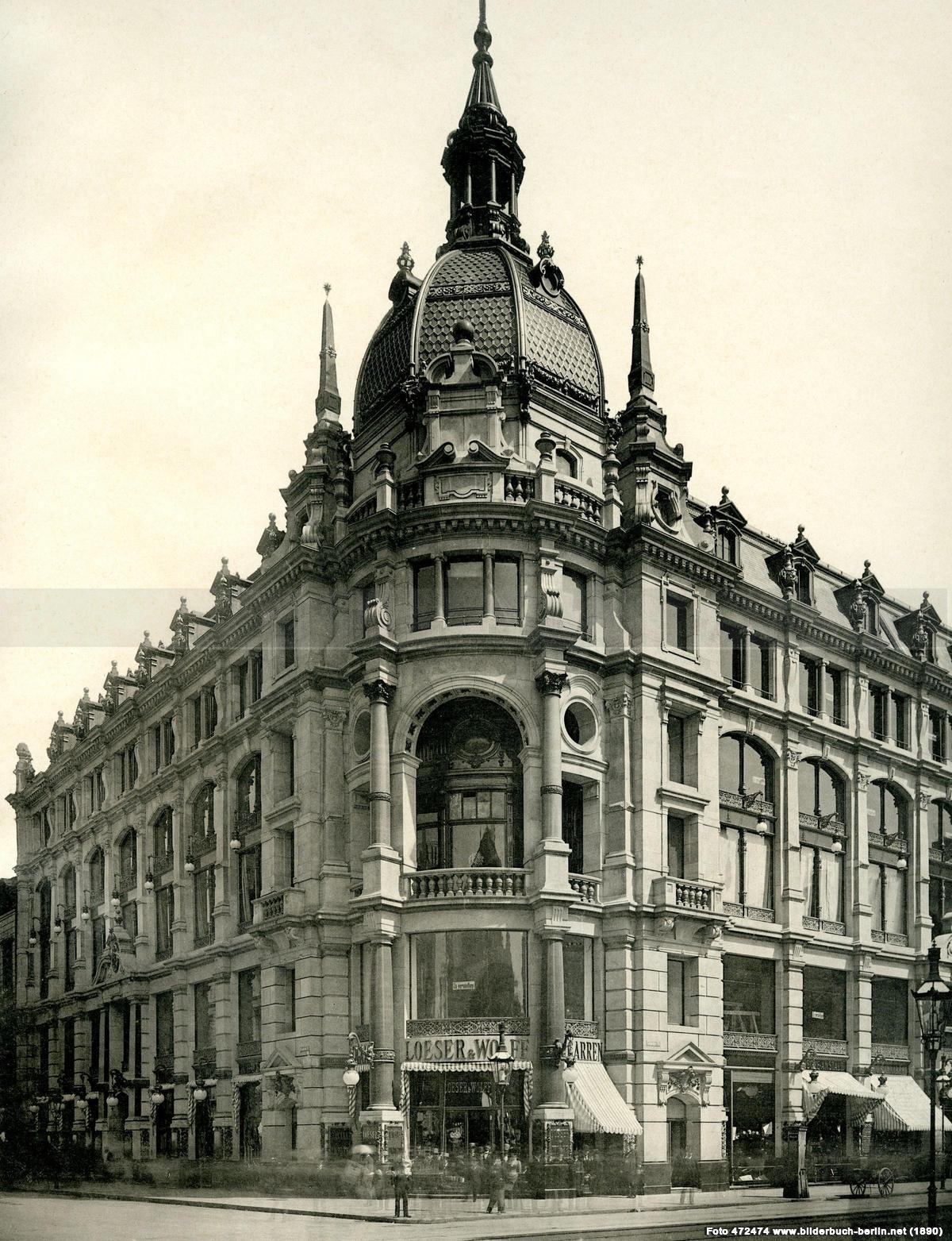 1890Friedrichstrasse Ecke Leipziger Strasse
