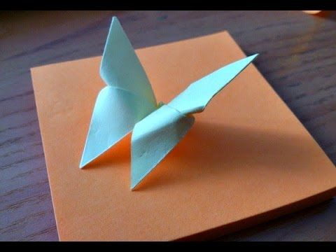 How to make an origami Butterfly (Michael LaFosse) - YouTube   360x480