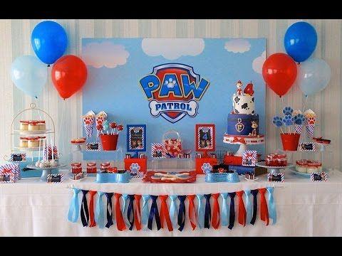 Decorar Cumplea 209 Os Patrulla Canina Paw Patrol Birthday