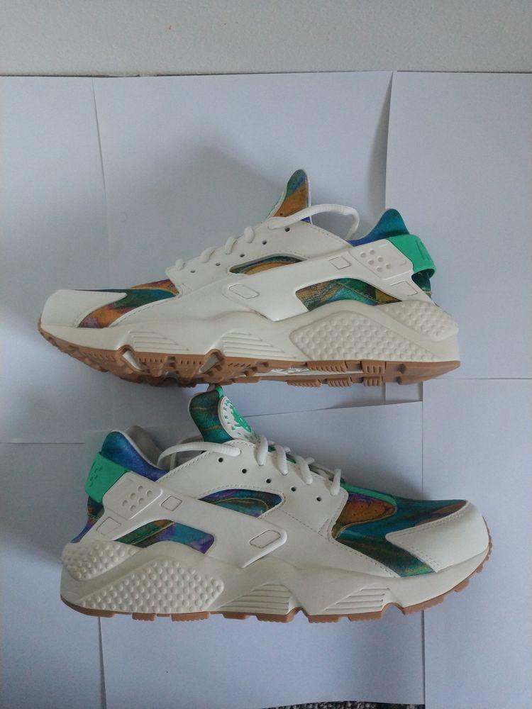 separation shoes c59bc ea33b Men s Nike Air Huarache Run Print - Sail Hyper Crimson Menta  fashion