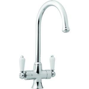 Wickes Toba Monobloc Kitchen Sink Mixer Tap - Chrome | Kitchen sink ...