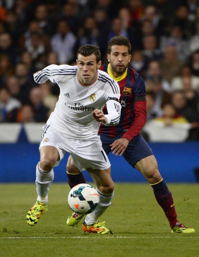 Bale y Jordi Alba Madrid-Barça