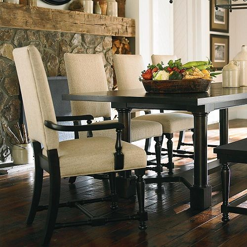 Bassett Dining Room Chair - captains chairs but will want walnut ...