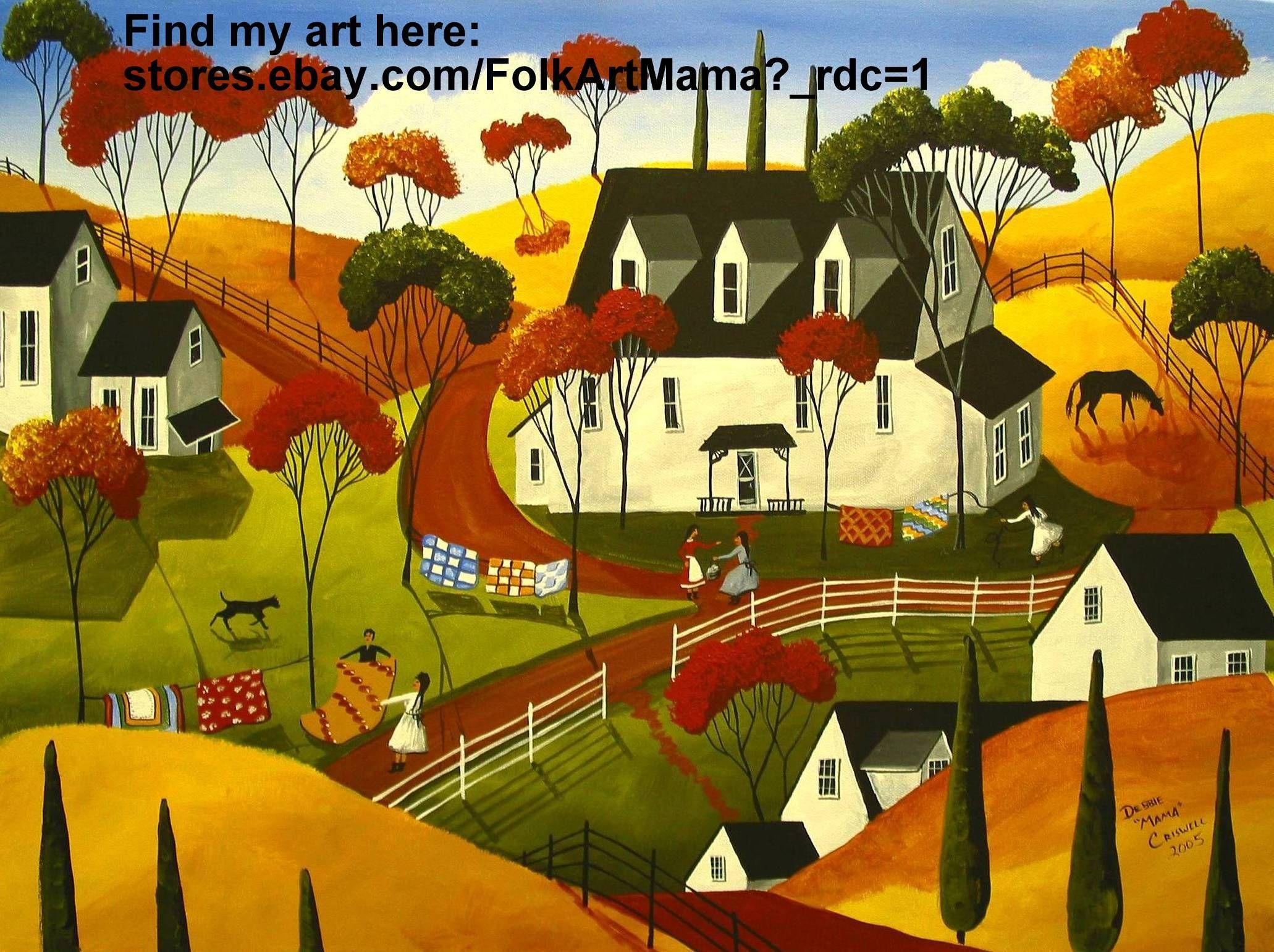 Folk art painting \