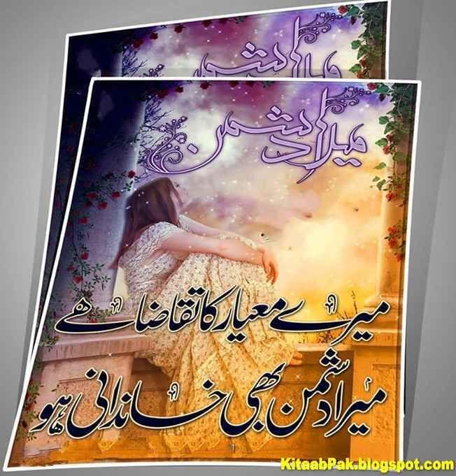 Mere Miyar Ka Taqaza Hai Mera Dushman Bhi Khandani Ho My Dairy Urdu Poetry Poetry