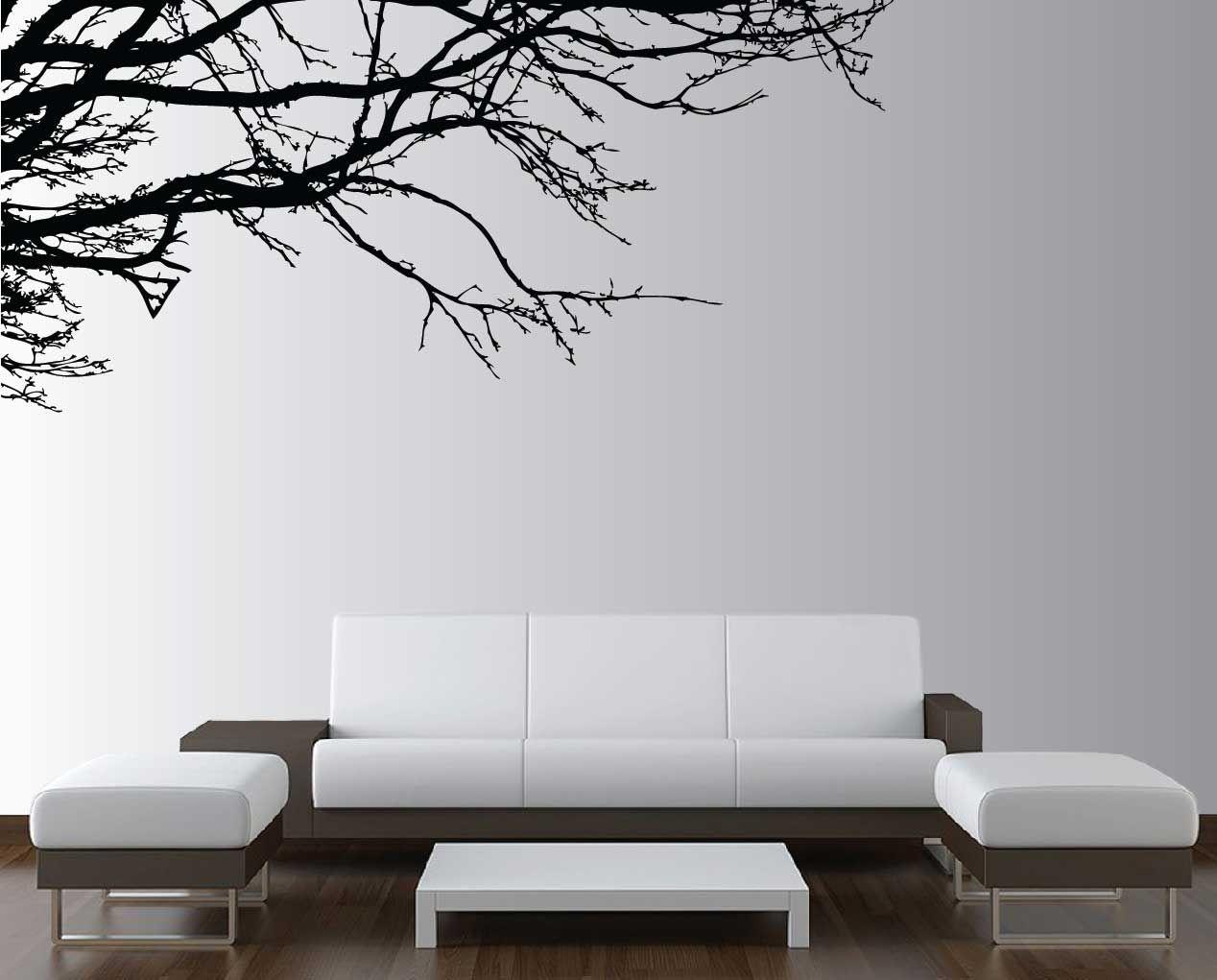 Wall Design Stencils pretty tree wall stencils design home furniture ideas | projects