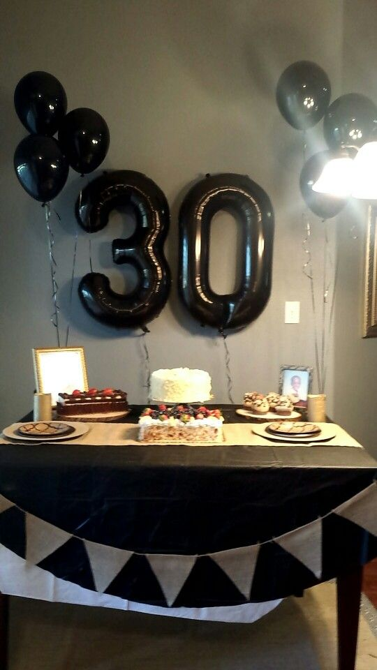 Manly 30th Birthday Party Mens Birthday Party 30th Birthday