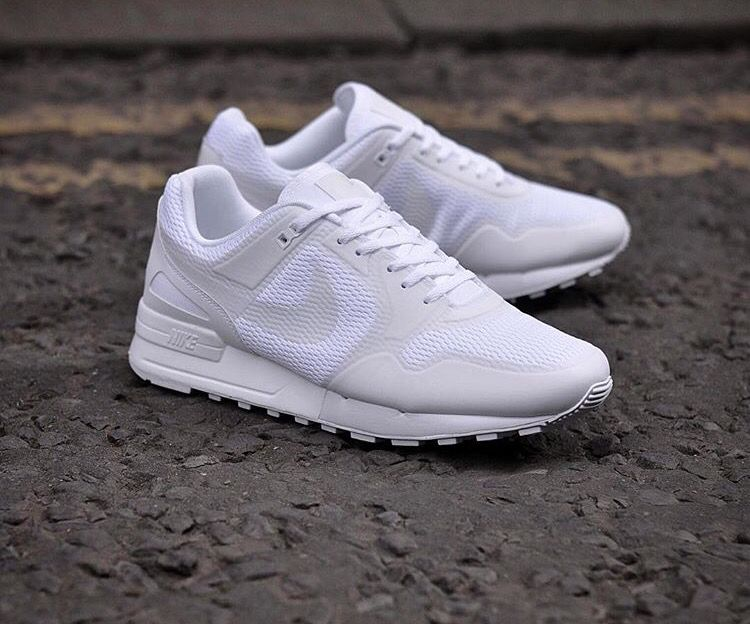 Nike Air Pegasus 89  new release in allwhite Apr2016