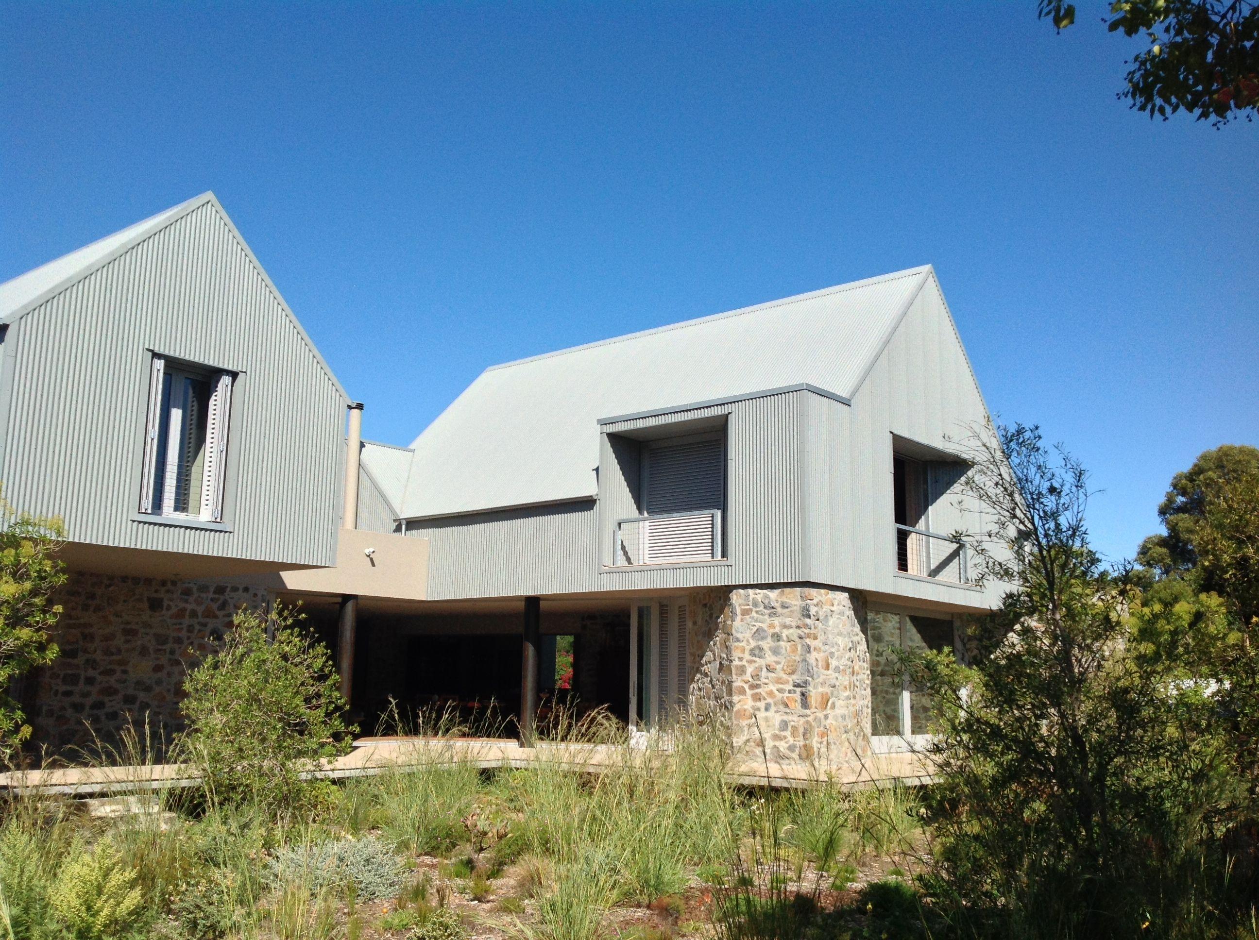 Zinc house slee co architects buildings for Architecture zinc