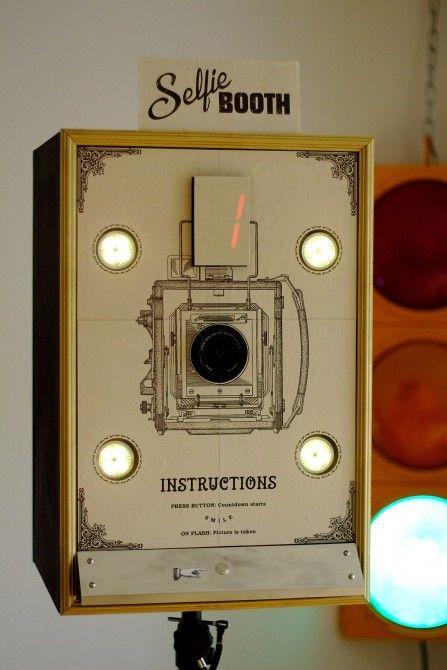 Nostalgie wifi foto box bauen also bringt eure gaste ins richtige bild rh pinterest