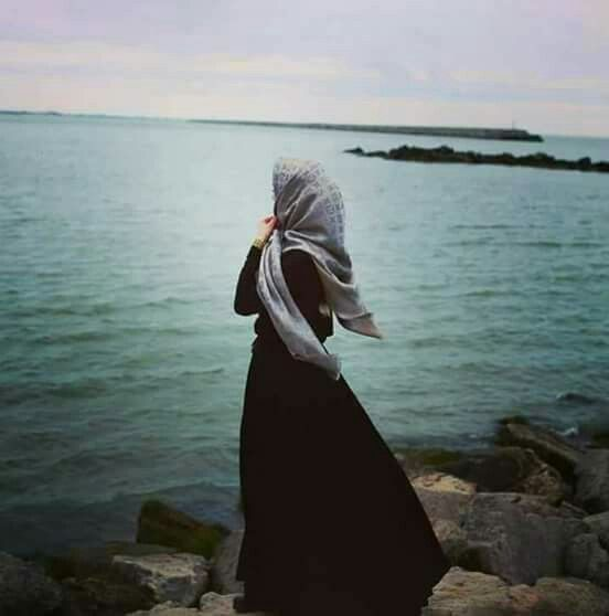 Image result for Pic of Girl alone in Hijab
