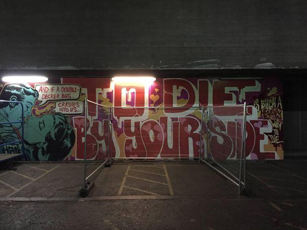 London Graffiti / Mural / Wall Art & London Graffiti / Mural / Wall Art | Moz u0026 The Smiths | Pinterest ...