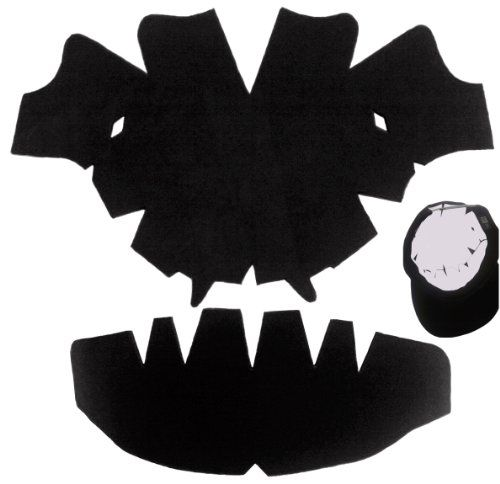 cffc541a15d272 Discover ideas about Black Baseball Cap. The DELUXE Baseball Cap Dome Panel  Shaper ...