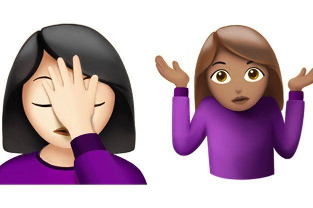 Here Are The New Emojis Coming To The Iphone Ios Emoji Emoji New Emojis